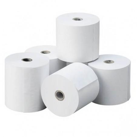 """Papel Continuo Autocopiativo blanco 12""""x38 cm 3 Tantos (Caja 1000 hojas)"""