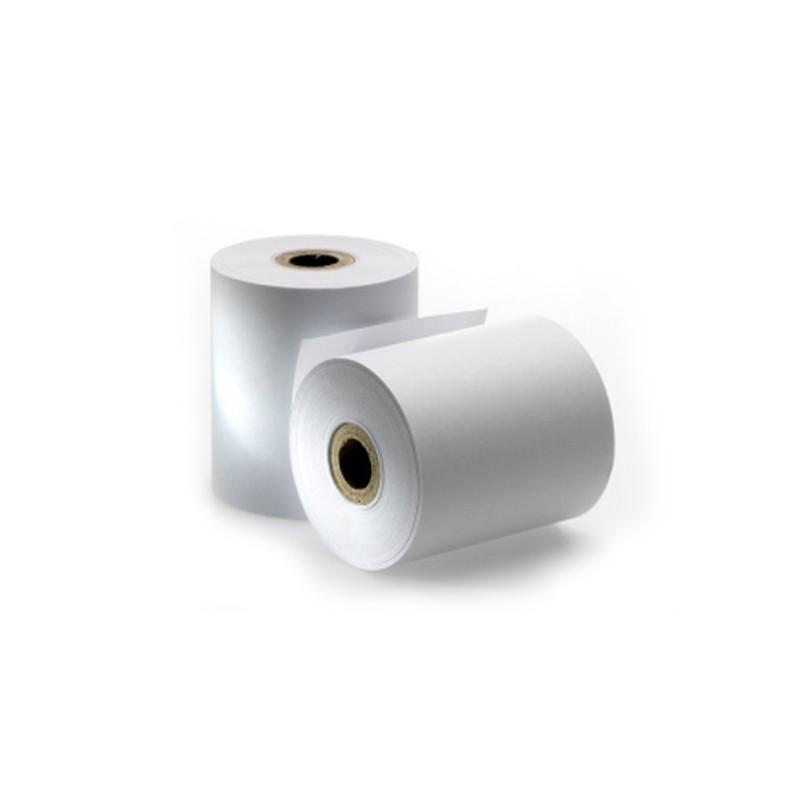 Rollo de papel autocopiativo 74x65 (Caja 80 uds.)