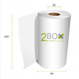 Rollo de papel autocopiativo 114x65 (Caja 48 uds.)