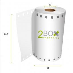 Rollo de papel Electra Tracción 114x65 (Caja 50...